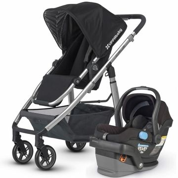 Uppababy Cruz  Mesa Travel System - Black