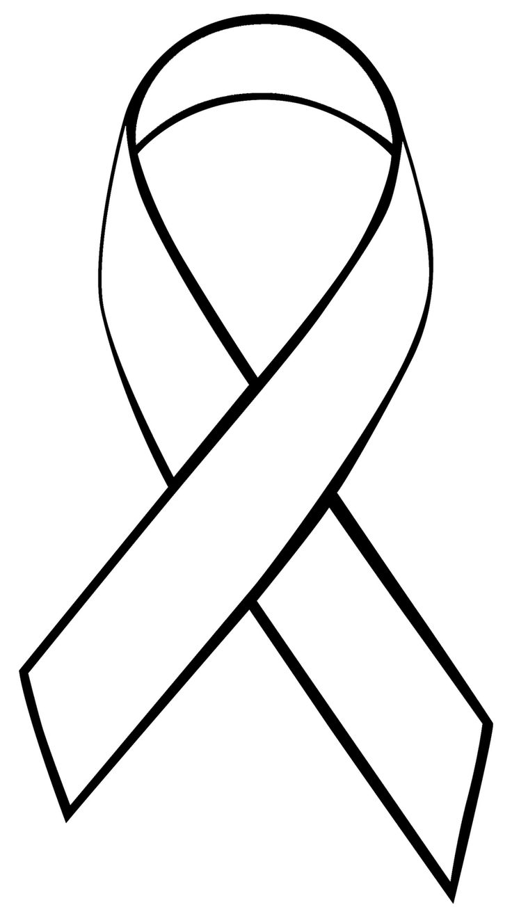 cancer ribbons coloring pages - photo#8