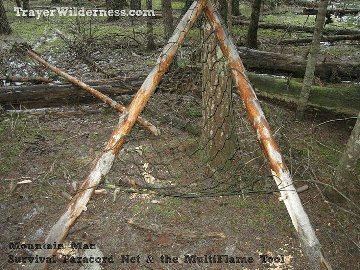 How To Use A Survival Paracord Net To Make A Hammock Chair