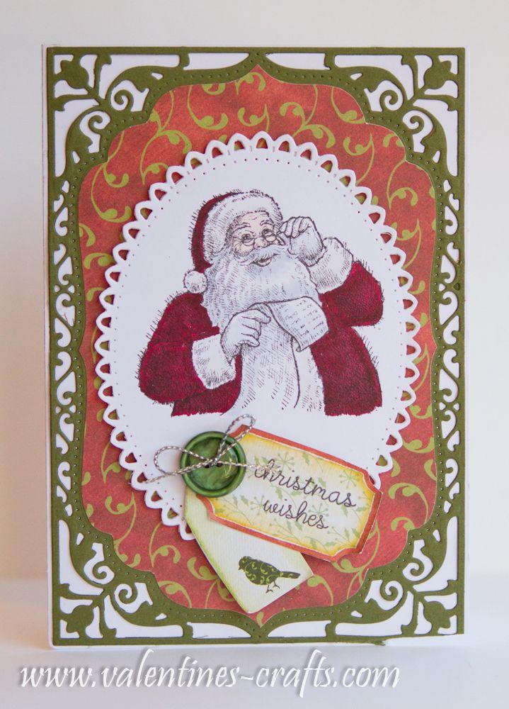 Stampin up - Santa's list.. www.clairmatthews.com