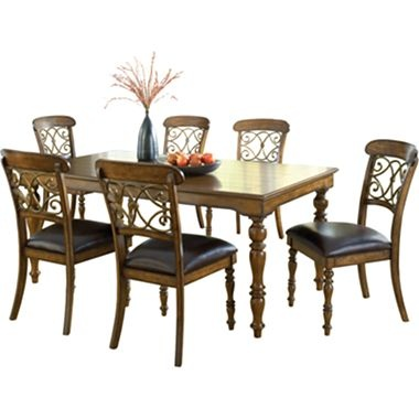 hillsdale bergamo 7 pc dining table set jcpenney