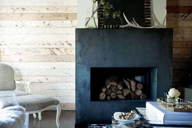 Empty Fireplace Ideas Home Crafts DIY Pinterest