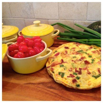 Chicken Cobb Breakfast Bake | Recipe