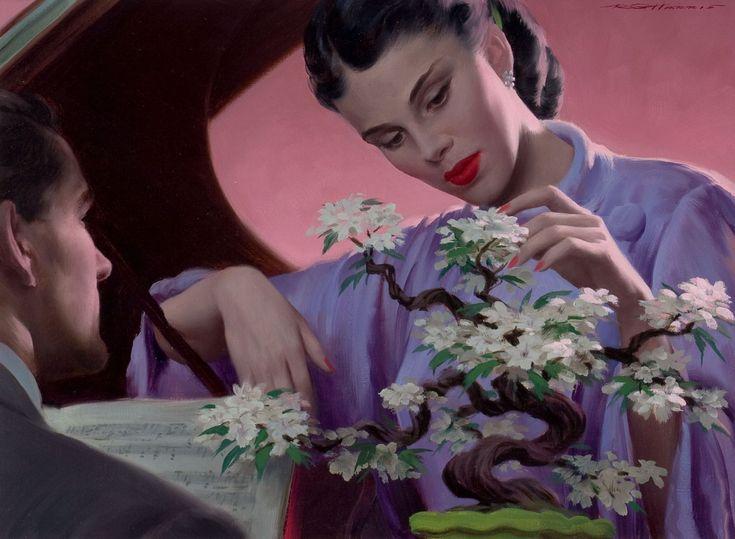 Robert G Harris (1911-2007) — Bonsai Baja(1397×1024)