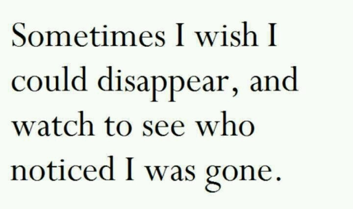 Just Disappear | Quotes | Pinterest