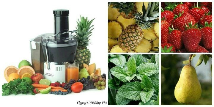 Strawberry / pineapple / mint | Liquid Dreams | Pinterest