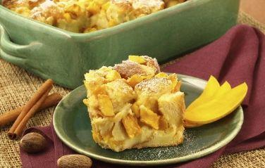 Brandied Mango Bread Pudding | mango.com | Recipes & Cooking Ideas ...