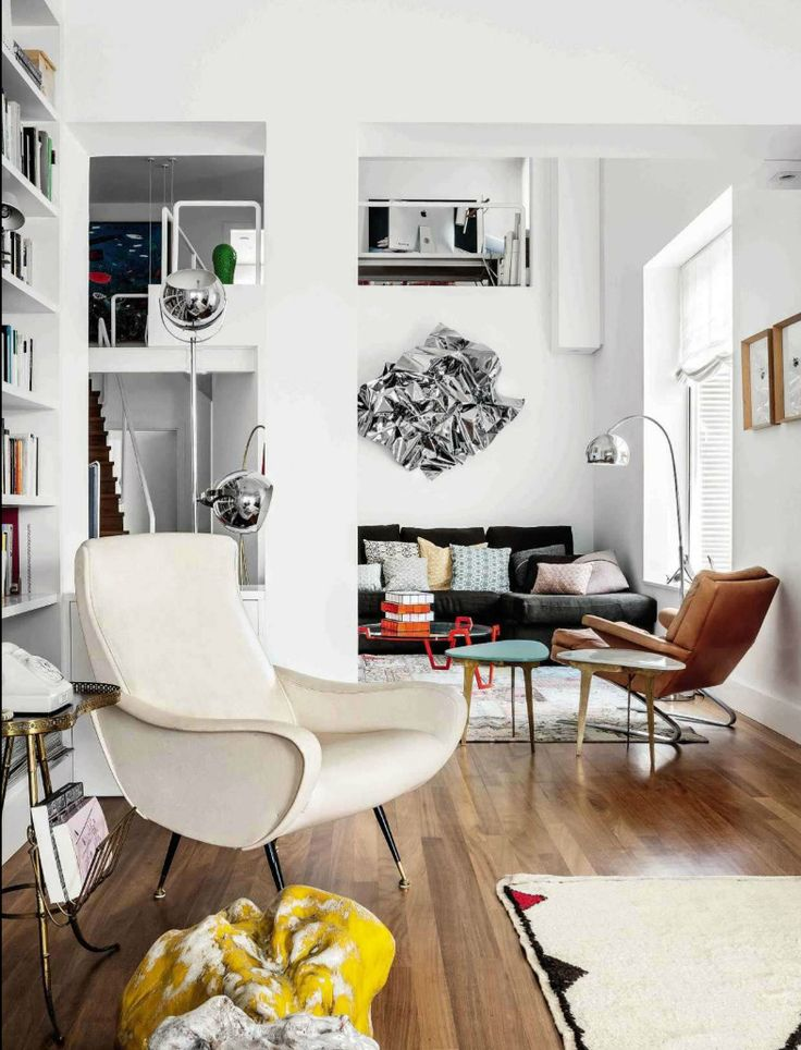 Mid Century Modern Living Room LaFAV Mid Century Design Pinterest