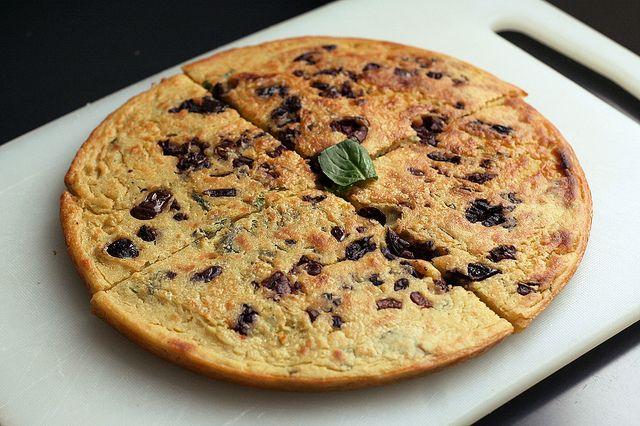 simple socca recipe unleavened pancake or crêpe of chickpea flour can ...