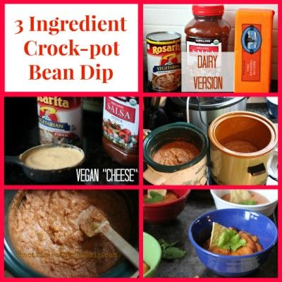 3 slot crock pot for dips