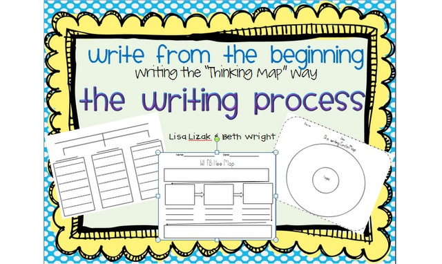 """Free!!! The Writing process...free printables! Using """"thinking maps"""" Makes writing simple and painless"""