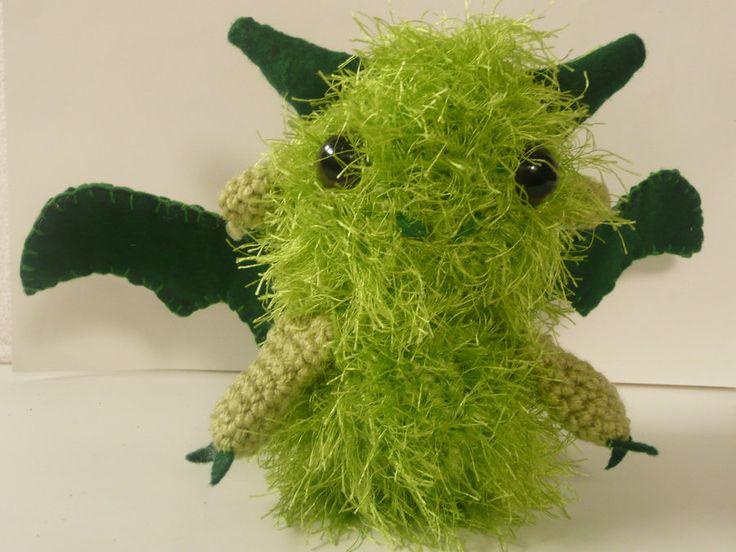 Green Dragon Amigurumi Pattern : Pin by Nailistas on Amigurumi Pinterest