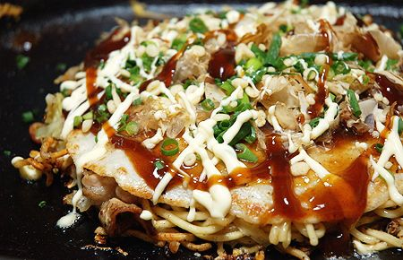 OKONOMIYAKI-HIROSHIMA-RECIPE-1 | Recipes food | Pinterest