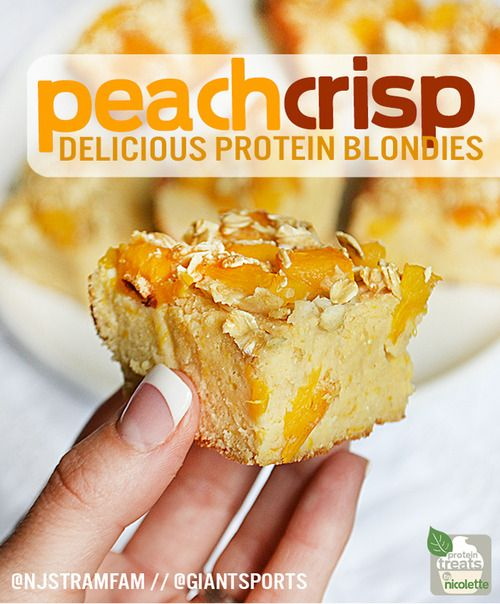 Gluten Free, Guilt Free and Just Peachy! Peach Crisp Delicious Protein ...
