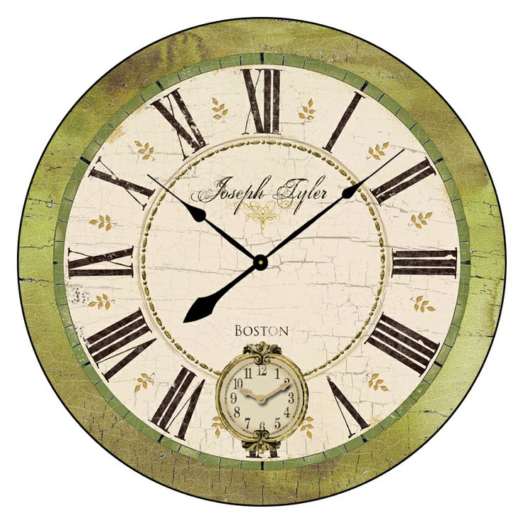 pin by clocks around the world on large wall clocks 24 to 60 pint. Black Bedroom Furniture Sets. Home Design Ideas