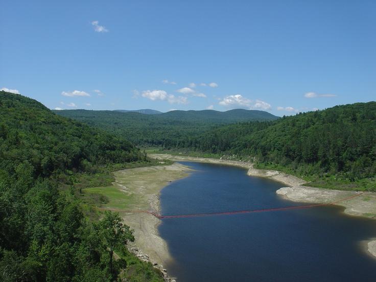 Ball Mountain Dam Fishing near Rockingham, Vermont ...