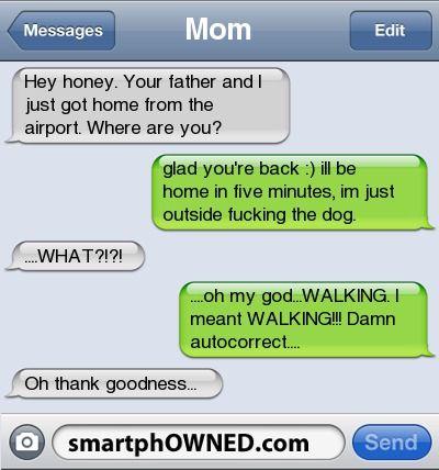Autocorrects -