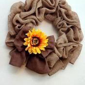 burlap wreaths for doors