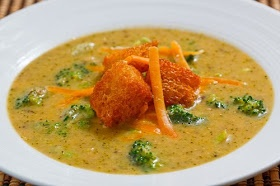 Roasted Broccoli and Cheddar Soup | Recipe