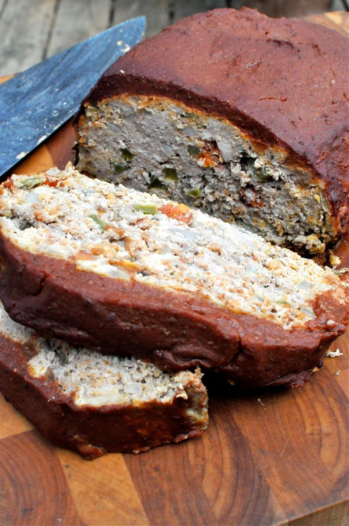 Paleo Meat Loaf - Tasty but make sure to chop the vegetables finely to ...
