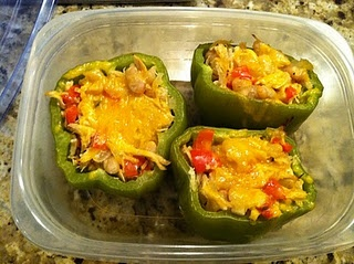 chicken and white bean stuffed peppers chicken and white bean stuffed ...