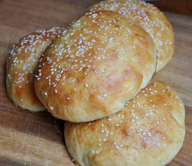 Light Brioche Burger Buns | desserts, breakfast, baking | Pinterest