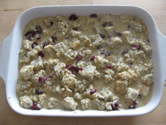 Muffin bread pudding | how sweet it is | Pinterest