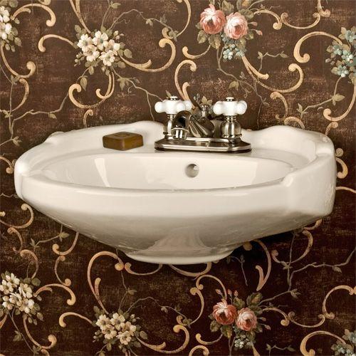 Victorian Corner Sink : ... front to back) x 8-1/2