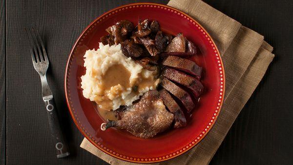 Roast Duck with Maple Bourbon Gravy Recipe | Hunter Angler Gardener ...