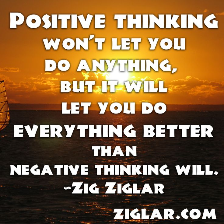 Images of Positive Thinking Quotes by Zig Ziglar