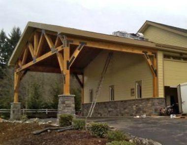 Drive Addition Pole Barn Houses Pinterest