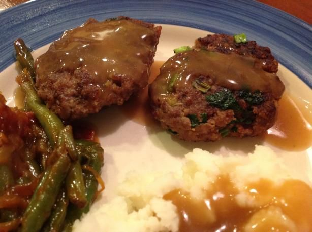 Beef and Bacon Rissoles With Gravy | Recipe