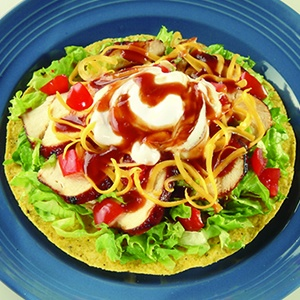 Smokey Grilled Chicken Tostadas | Mexican Meals | Pinterest