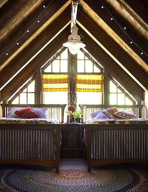 16 Dec 12 Cozy Attic Room Farmhouse Pinterest