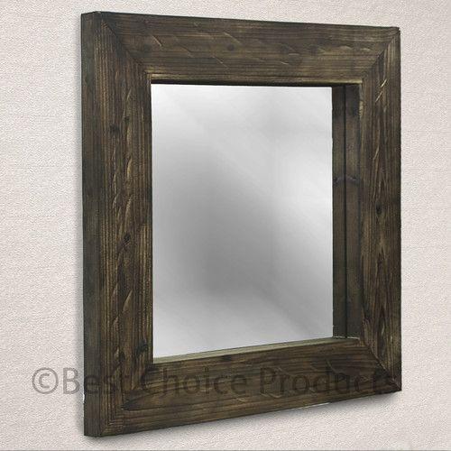 Design Of Reclaimed Wood Mirror : 30