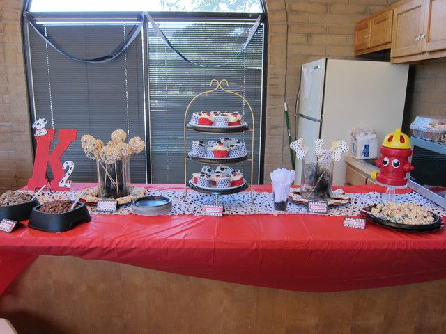 Dalmatian Paw-ty Birthday Party Ideas | Photo 1 of 15 | Catch My Party