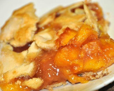 Rustic Peach Tart - GOODEness Gracious: THE BEST Peach filling recipe ...