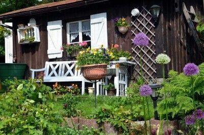 giardino shabby chic outdoor : Garden cottage shabby chic. ???^~ sHaBbY cHiC ...