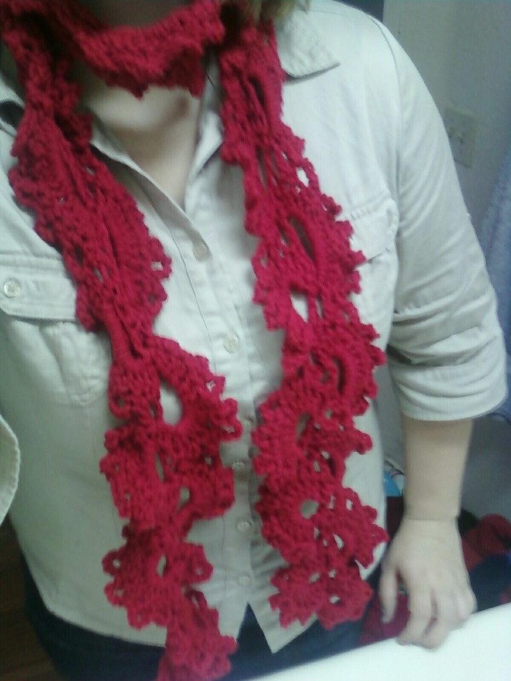 Queen Annes Lace Scarf Crafty & Fun Ideas Pinterest