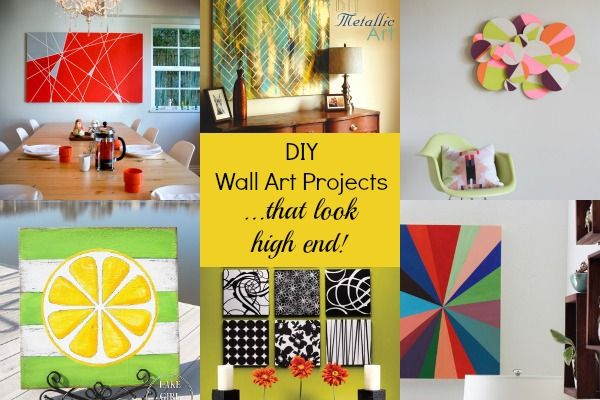 Gorgeous DIY Wall Art Projects That Look High End Www