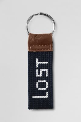 Men's+Needlepoint+Key+Chain+from+Lands'+End
