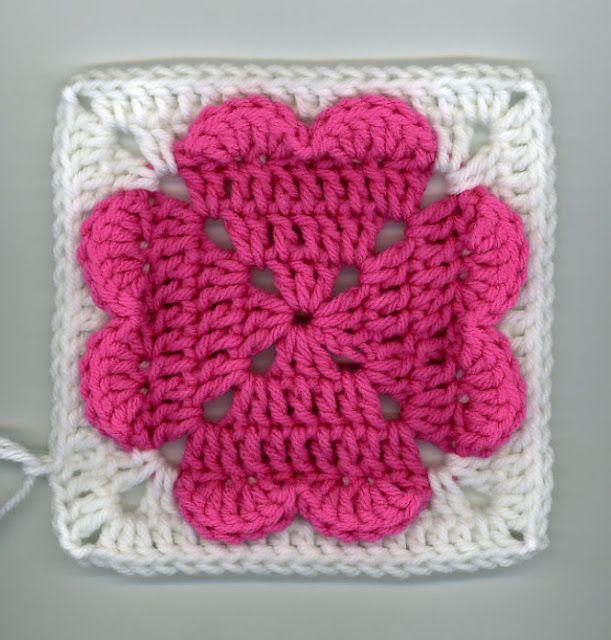 4-hearts square (PAP como fazer square de coração)