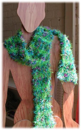 Scarf pattern using Splash & Fizz yarns Knit & Crochet Pinterest