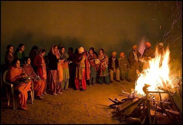 Celebrate Lohri in Punjab Images