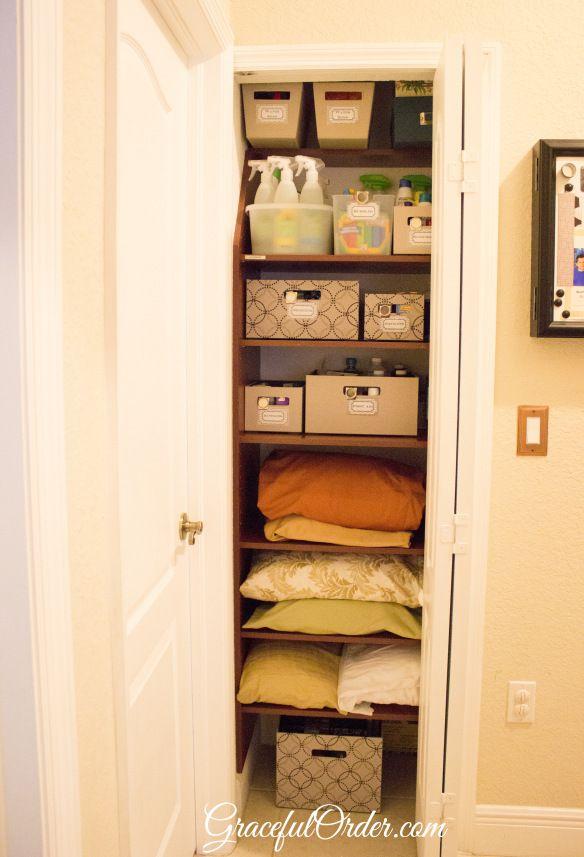 Linen Closet Organization Ideas Pinterest Part - 40: Linen Closet Ideas Pinterest - Linen Closet Organization Ideas For The Home