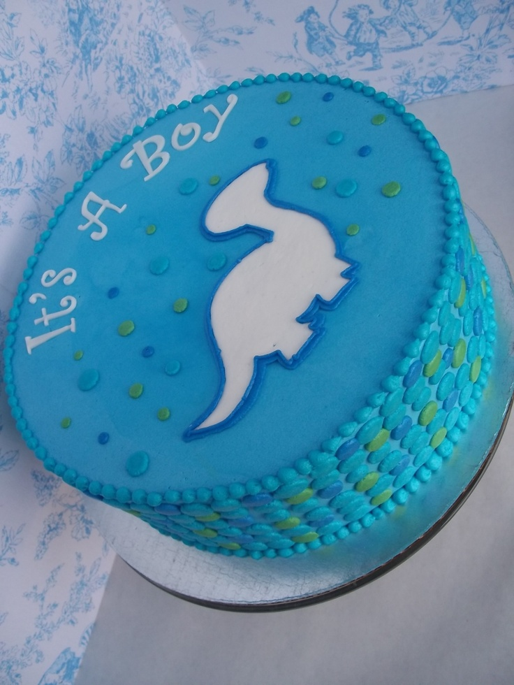 Living room decorating ideas dinosaur baby shower cake ideas for Baby footprints cake decoration