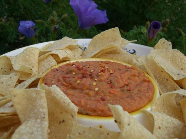 White Bean and Roasted Red Pepper Dip. Photo by Chef*Lee