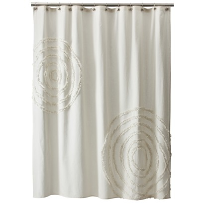 Extra Wide Window Curtains Waterfall Ruffle Shower Curtain