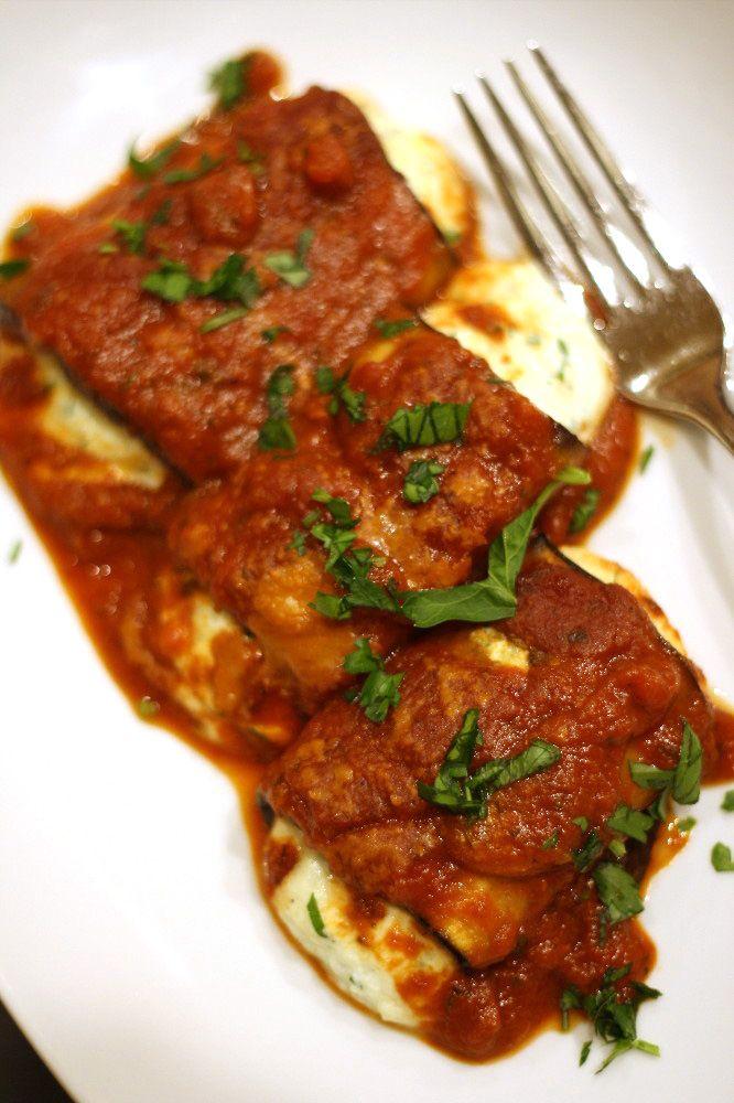 No Gluten, No Problem: Eggplant Cannelloni