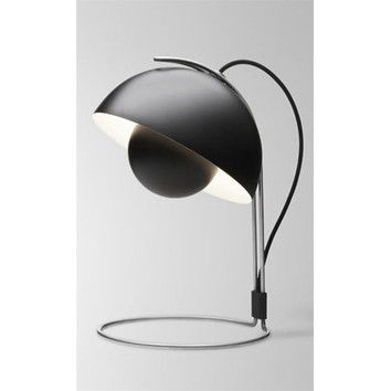 Tradition Flowerpot 15 H Table Lamp With Bowl Shade